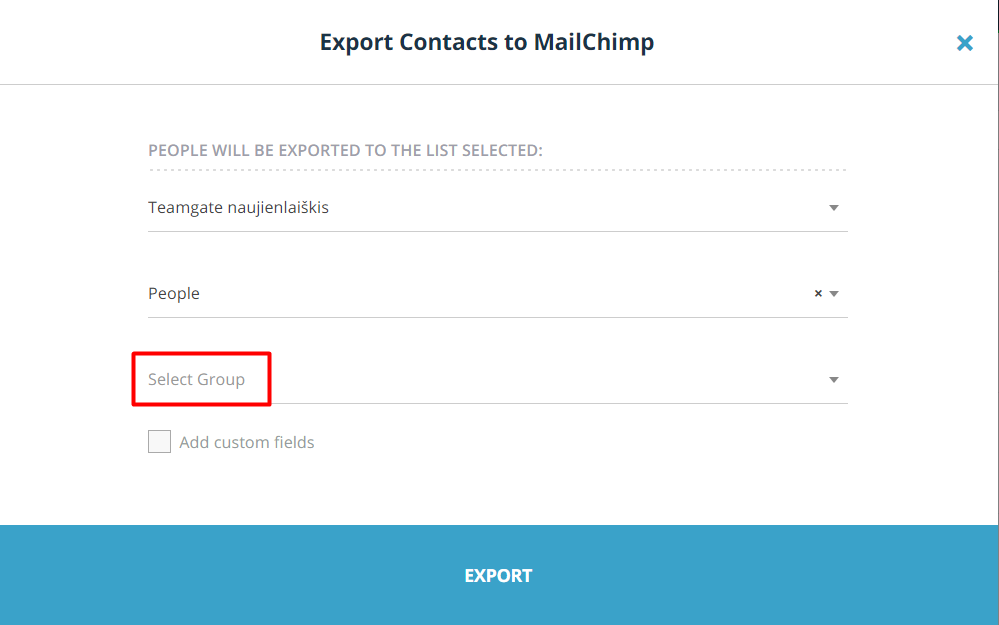 export-contacts-to-mailchimp-select-group-teamgate.png