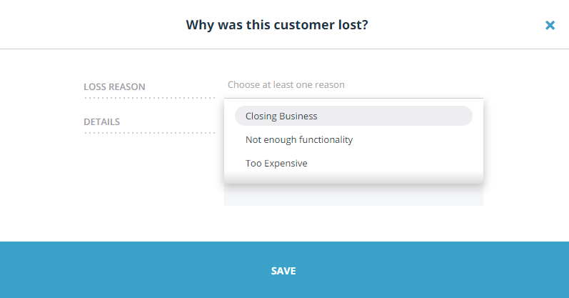 choose-customer-loss-reason-teamgate.png