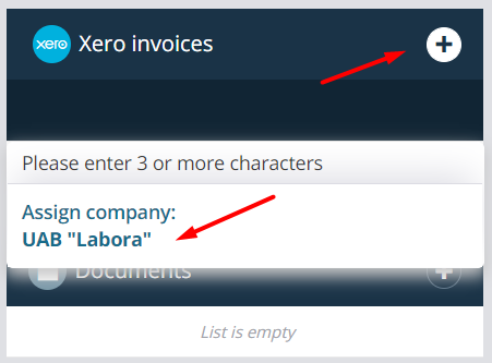 xero-invoices-assign-company-teamgate.png