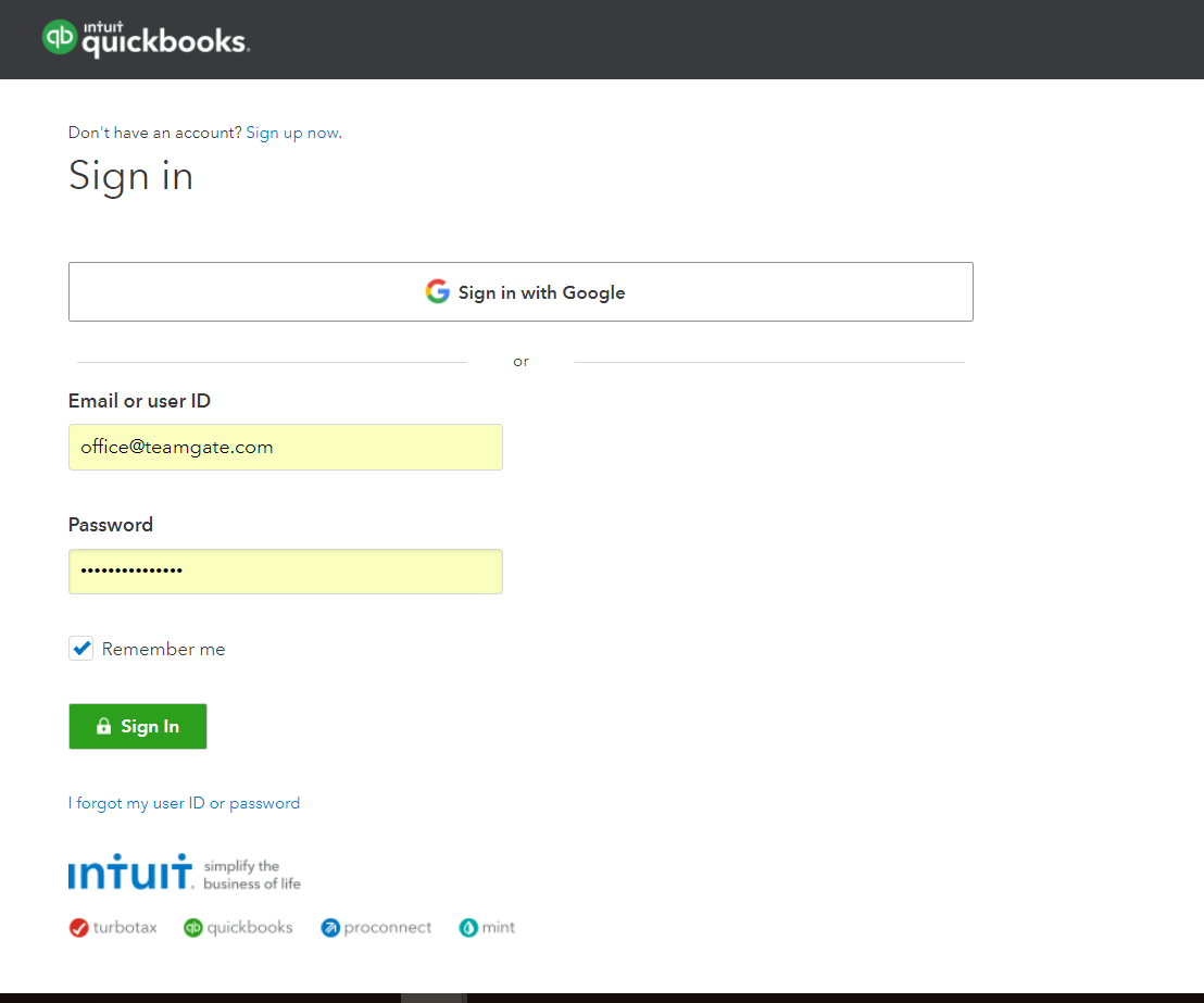 sign-in-teamgate-quickbooks-integration.png