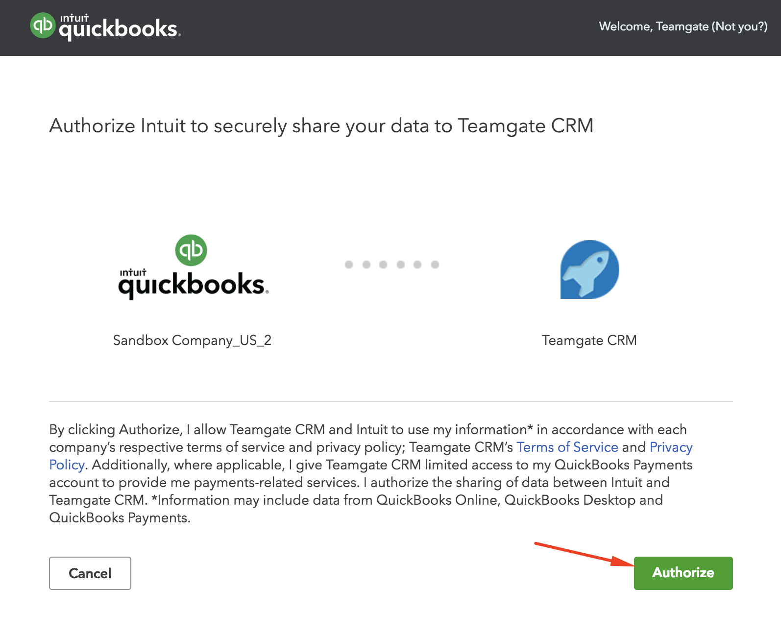authorize-QuickBooks-Teamgate-integration.png