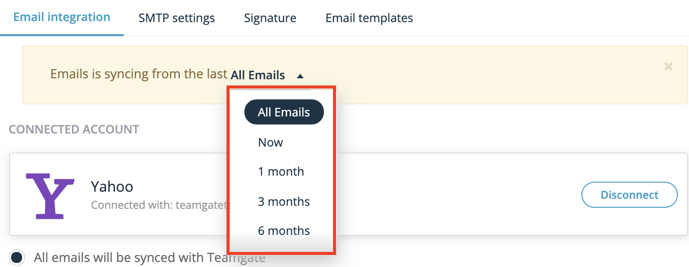 historical-emails-sync-settings-Teamgate-CRM.png