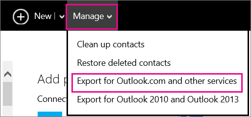 How Do I Export Leads from Microsoft Outlook to Teamgate